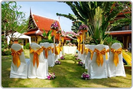 Incoming Search Terms: Intimate Garden Wedding Themes