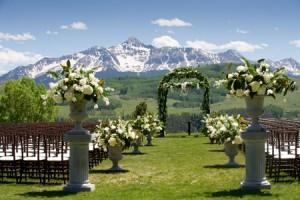 Alpine mountain wedding ideas